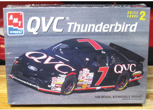 # 7 QVC Geoff Bodine 1996 Thunderbird AMT Kit Sealed