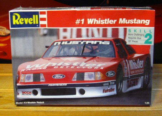 # 1 Whistler Trans Am Mustang Revell Kit Sealed