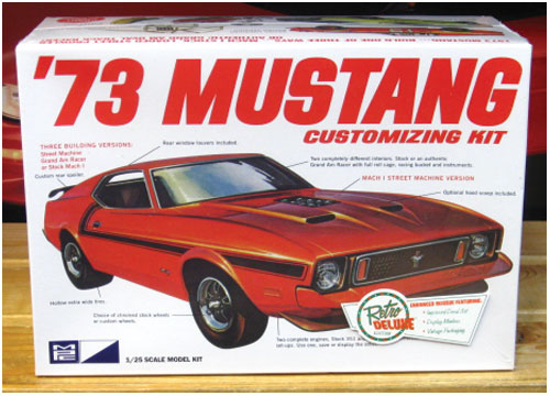 MPC 1973 Ford Mustang Kit Sealed New 2016 Issue