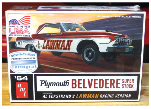 AMT Lawman 1964 Plymouth Super Stock Kit NEW!
