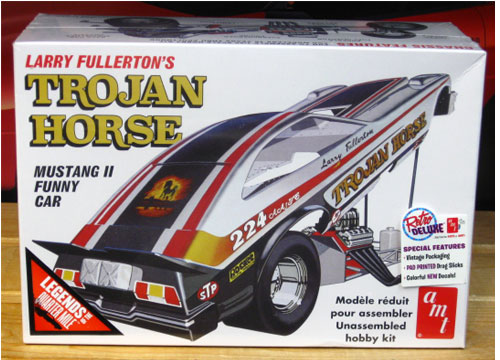 AMT Trojan Horse Mustang II Funny Car New 2016 Issue