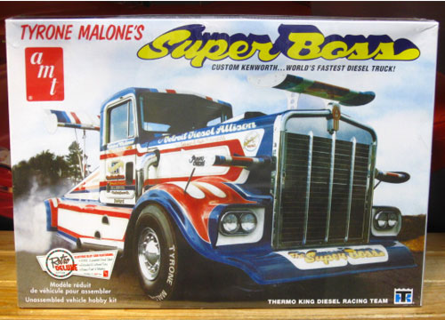 AMT Super Boss Tyrone Malone Kenworth Kit Sealed