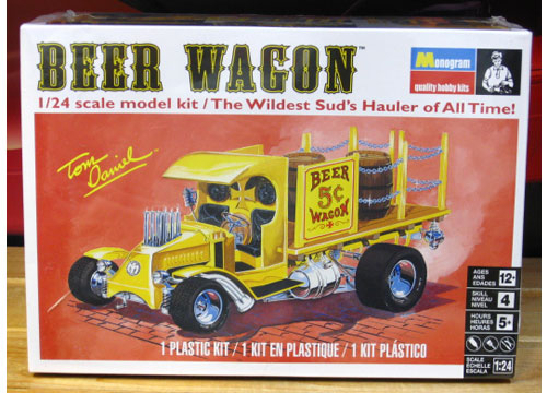 Monogram Beer Wagon Kit NEW 2016 Issue Sealed