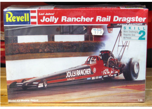 Revell Jolly Rancher Lori Johns Top Fuel Kit Sealed