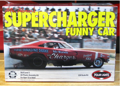 Polar Lights Mr Norm's SuperCharger Funny Car Kit Sealed