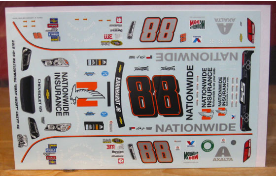 #88 Nationwide Darlington Dale Earnhardt Jr 2016 ACE