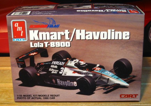 AMT Newman Haas Kmart Havoline Lola T-8900 Indy Car Kit Sealed