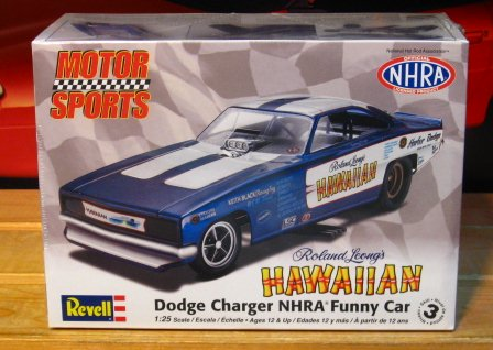 Revell Motorsports Roland Leong's Hawaiian Charger Funny Car