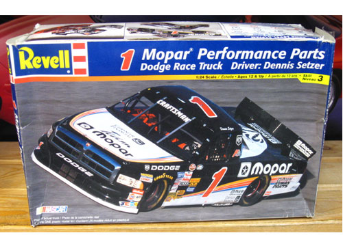 # 1 Mopar Dodge Truck Dennis Setzer Revell Kit Sealed