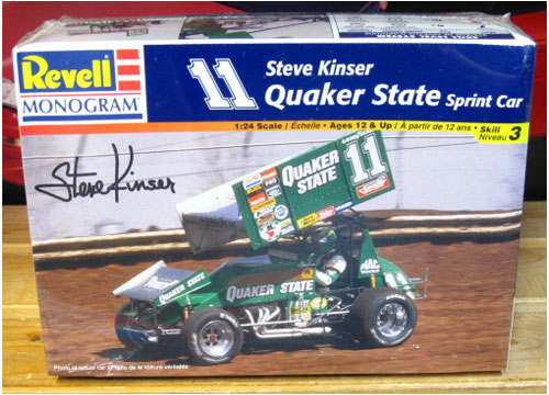 Revell Steve Kinser #11 Quaker State Sprint Car 1998 Issue Sealed