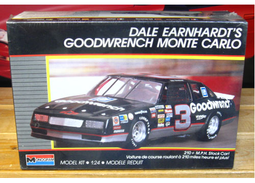 # 3 Goodwrench Dale Earnhardt 1988 Monogram Kit Sealed