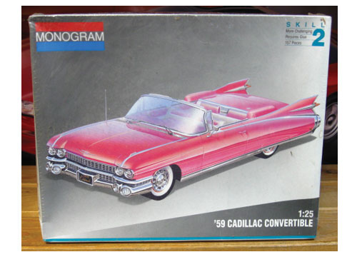 Revell 1959 Cadillac Convertible Kit 1992 Issue Sealed