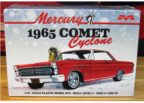 Moebius Models 1965 Mercury Comet Cyclone Kit Sealed