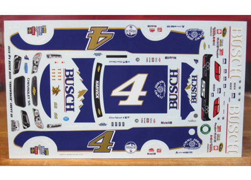# 4 Busch Darlington Kevin Harvick 2016 Ace