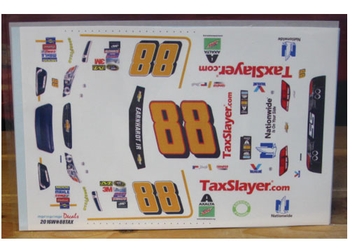 #88 Tax Slayer Dale Earnhardt Jr 2016 MPR