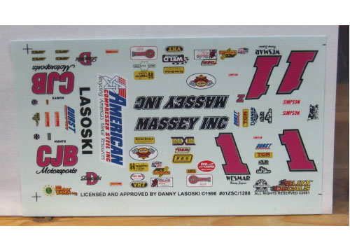 Sprint Car # 1 Massey Inc Danny Lasoski Slixx