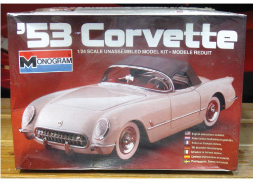 Monogram 1953 Corvette 1982 Issue Sealed
