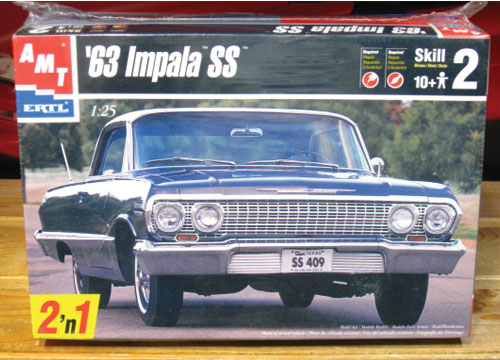 AMT 1963 Chevy Impala SS 1998 Issue Kit Sealed