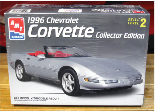 AMT 1996 Corvette Collector Edition Kit Sealed