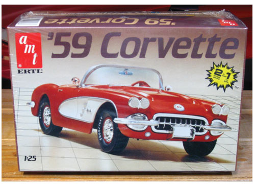 AMT 1959 Corvette 1970s Issue Sealed