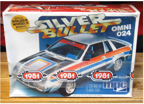 "MPC Dodge Omni 024 ""Silver Bullet"" Kit Sealed"