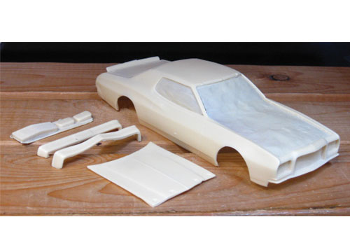 Resin Body 1975 Torino Coupe