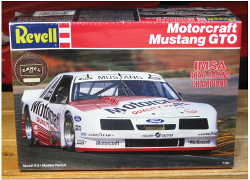 Revell Motorcraft Mustang GTO IMSA Race Car 1987 Kit Sealed