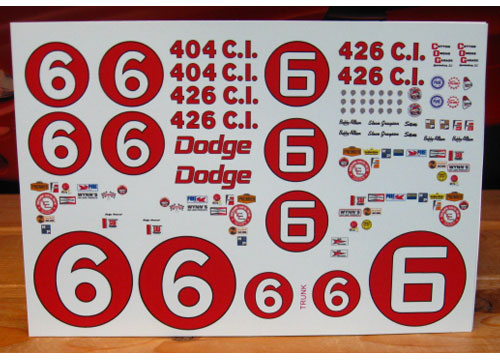 # 6 Dodge 1967 Cotton Owens Charger PPP