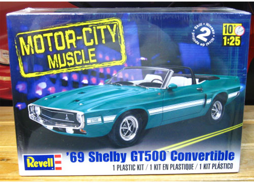 Revell 1969 Shelby GT500 Convertible Kit Sealed