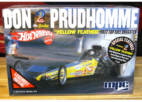 Revell Hot Wheels Don Prudhomme Dragster Kit Sealed New 2016 Issue