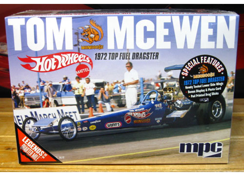 MPC Hot Wheels Tom McEwen Dragster Kit Sealed New 2017 Issue