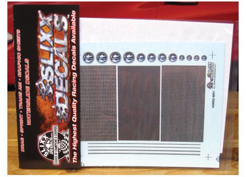 Slixx #8051 Grill Mini Sheet #2