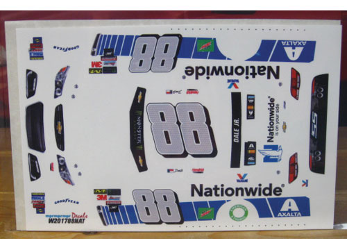 #88 Nationwide Dale Earnhardt Jr 2017 MPR