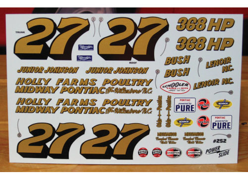 #27 Junior Johnson 1961 Pontiac Powerslide #252