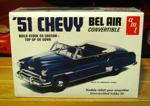 AMT 1951 Chevy Bel Air Convertible Kit