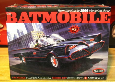 polar lights 1966 batmobile polar lights 1966 batmobile brand new
