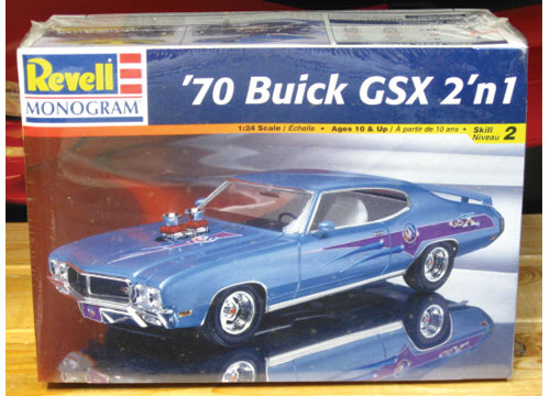Revell 1970 Buick GSX Kit Sealed