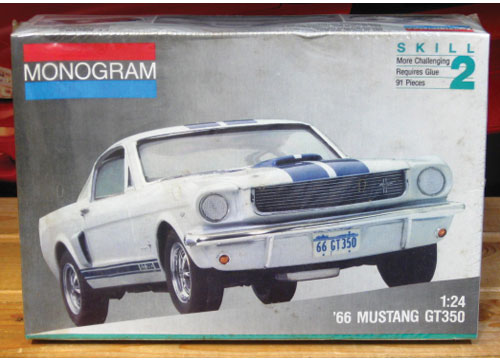 Monogram 1966 Mustang GT350 1991 Issue Sealed
