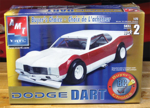 AMT Dodge Dart Kit Car 2004 Issue Sealed