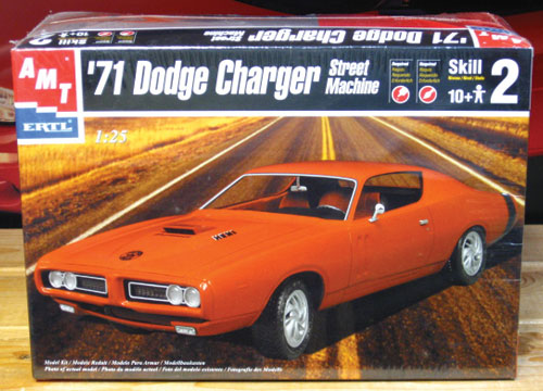 AMT 1971 Dodge Charger 2001 Issue Sealed