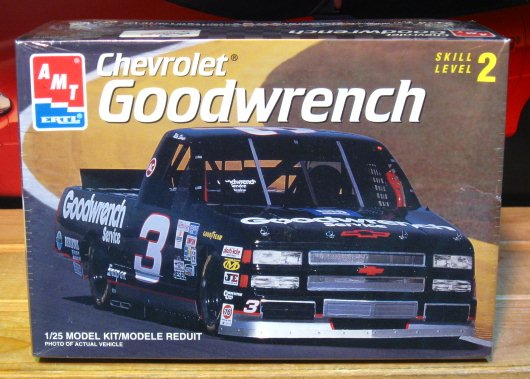 # 3 Goodwrench Mike Skinner Chevy Truck AMT Kit Sealed