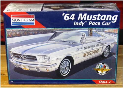 Monogram 1964 Mustang Indy Pace Car Sealed