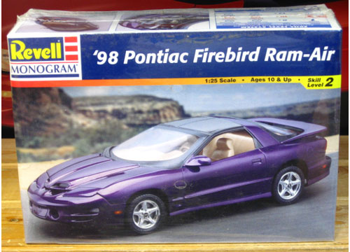Revell 1998 Pontiac Firebird Ram-Air Kit Sealed