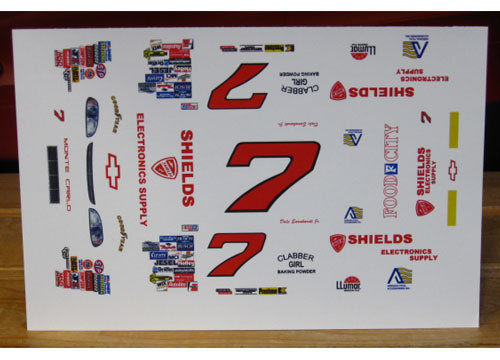# 7 Shields Dale Earnhardt Jr 1997 MPR