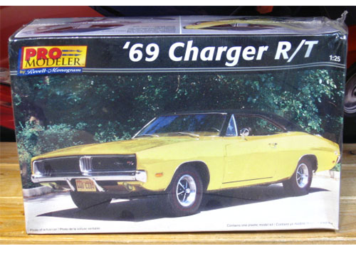 Revell 1969 Dodge Charger R/T Pro Modeler Kit Sealed