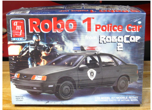 AMT Robo 1 Police Car RoboCop 2 Kit Sealed