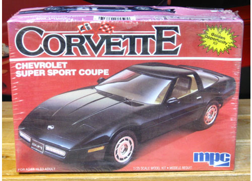 MPC 1985 Corvette Kit Sealed