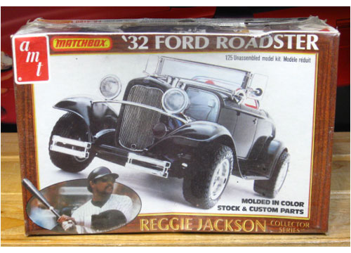 AMT Reggie Jackson Collector Series 1932 Ford Roadster 1981 Issu