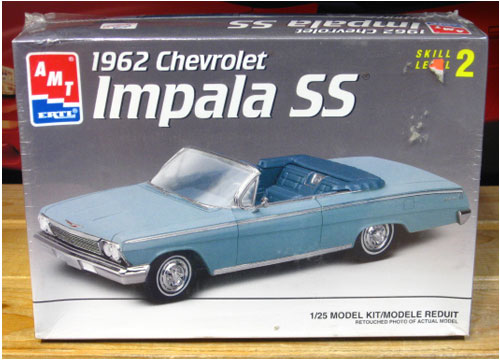 AMT 1962 Chevy Impala SS Convertible Kit 1997 Issue Sealed