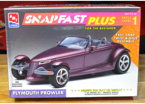 AMT Plymouth Prowler SnapFast Kit Sealed